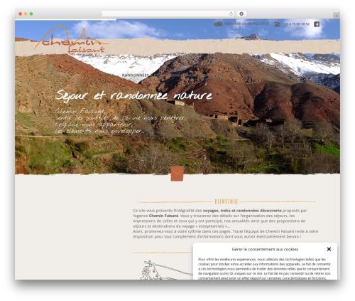 Specular WordPress theme - chemin-faisant.com