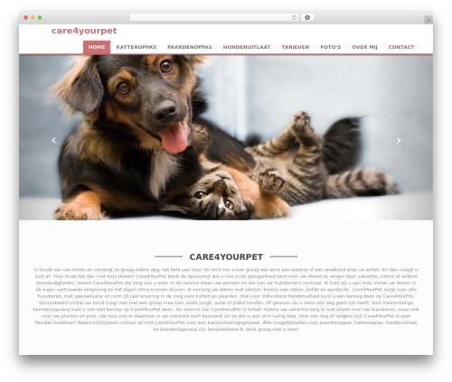 Weblizar top WordPress theme - care4yourpet.nl