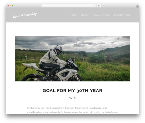 WordPress theme Ness - cdn.gonetraveling.me