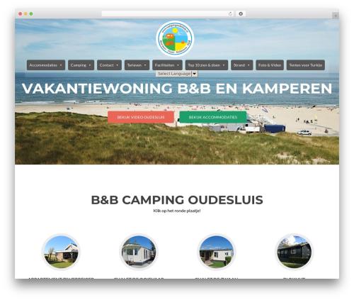 Free WordPress Easy Sidebar Menu Widget plugin - campingoudesluis.nl