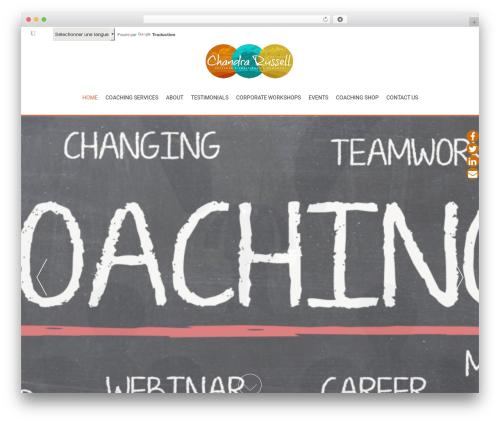 AccessPress Parallax WordPress template free download - careercoachchandra.com