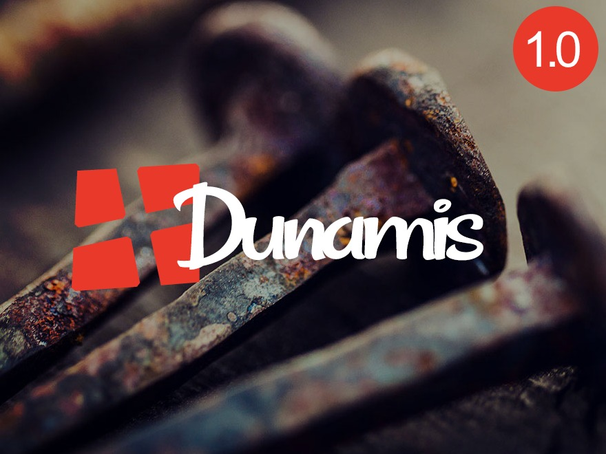 Dunamis Child WordPress page template