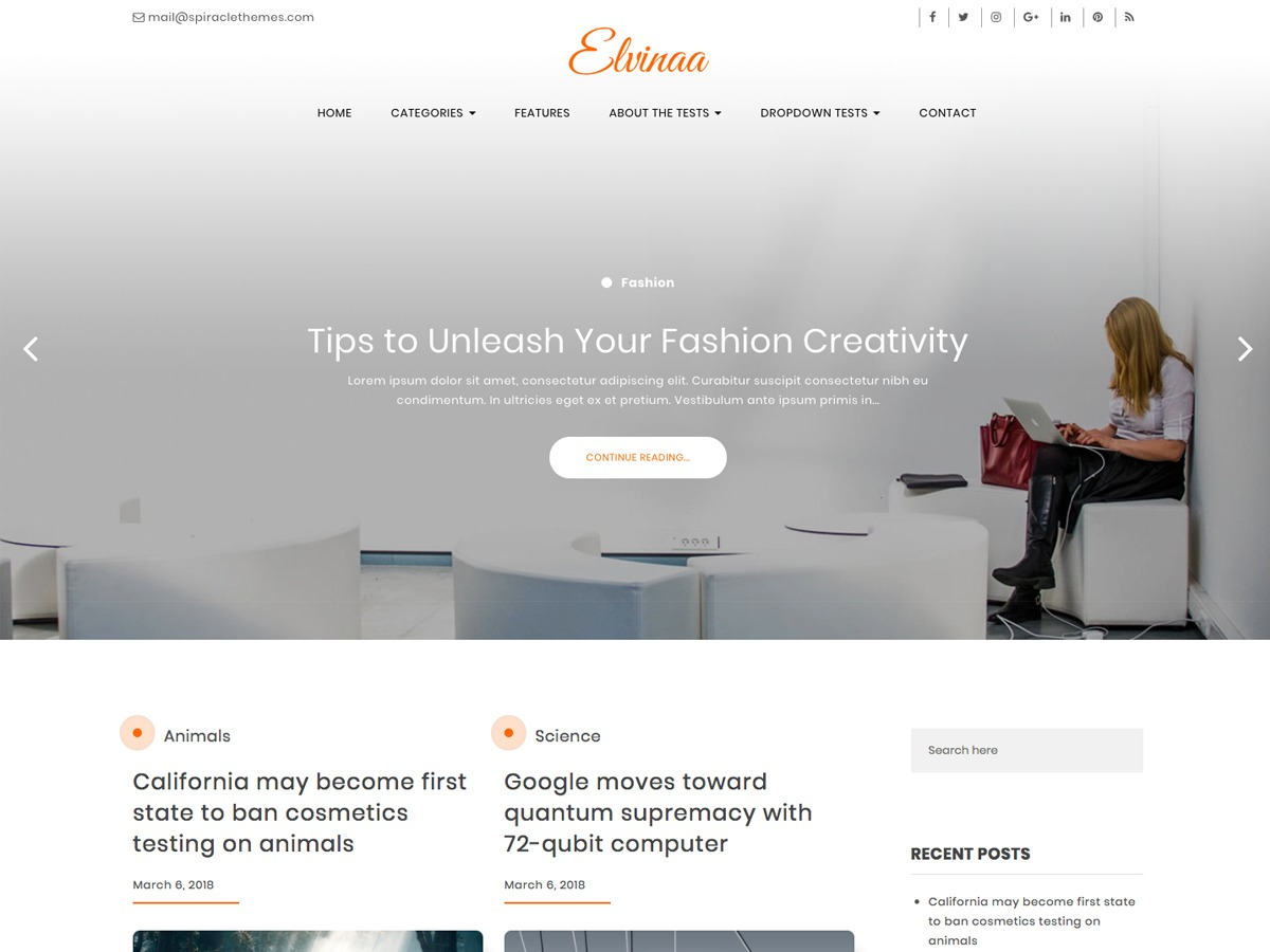 Elvinaa best WordPress gallery