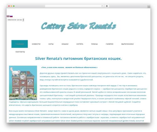 Photoline Lite template WordPress free - catsilver.ru
