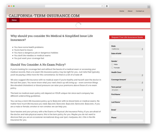 Schema by MyThemeShop template WordPress - californiaterminsurance.org