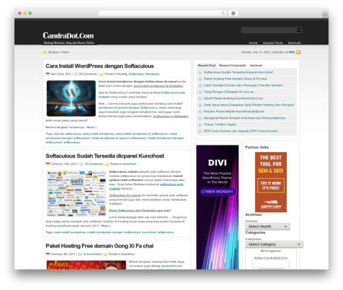 statement best free WordPress theme - candradot.com