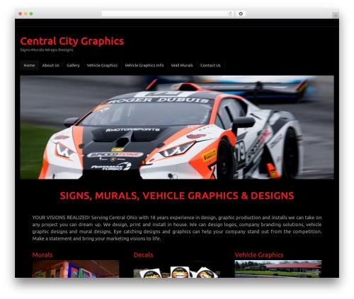 Tempera WordPress template free download - centralcitygraphics.com