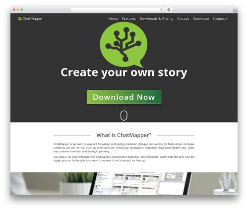 The7 WordPress theme - chatmapper.com