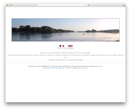 Twenty Eleven free website theme - chateaudevilleneuve.com
