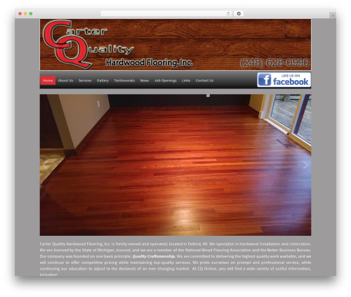 WP template WP-Brilliance - carterqualityflooring.net