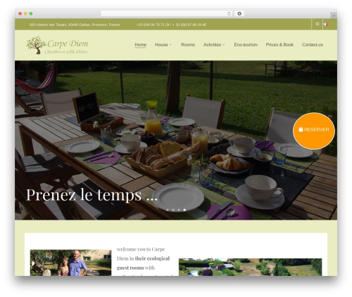 Free WordPress Simple Facebook Page Widget & Shortcode plugin - carpediem-provence.com
