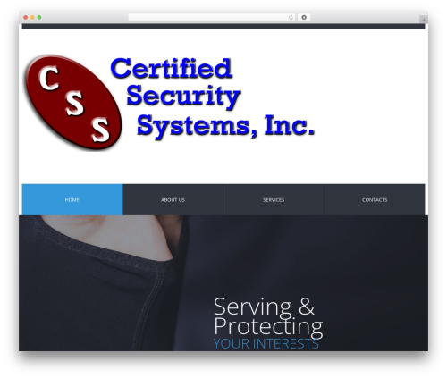 cherry WordPress theme - certifiedsecurity.us