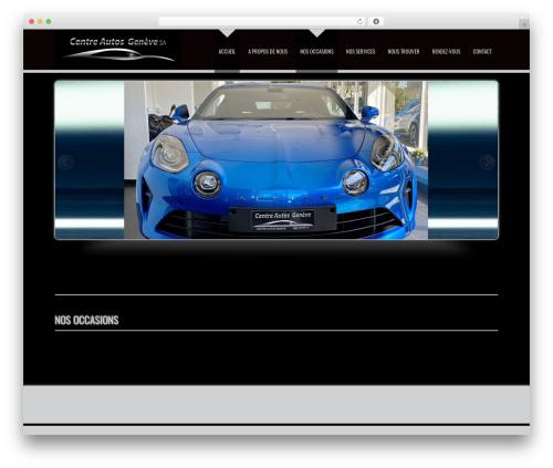 D5 Business Line Extend WordPress theme - centreautosgeneve.ch