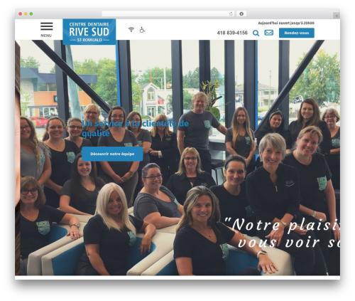 PloggMedia WordPress theme - centredentairerivesud.com