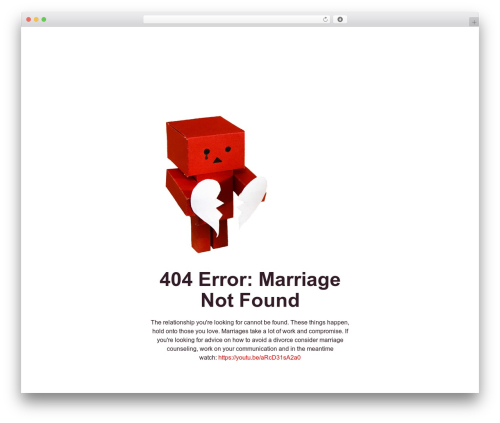 Radiate WP template - carpenterkellywedding.com