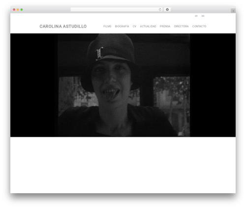 Theme WordPress Salient - carolinaastudillo.com