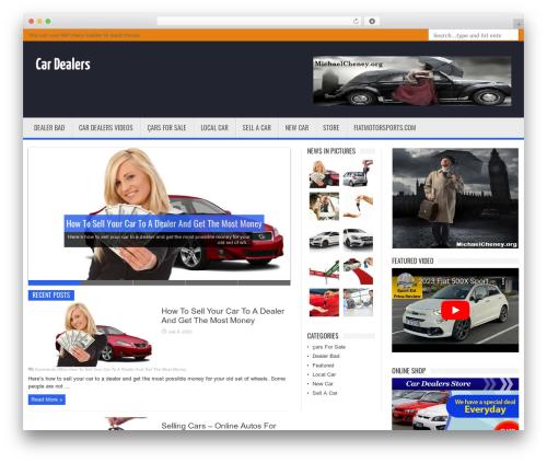 WordPress template MagNews - car-dealer.fiatmotorsports.com