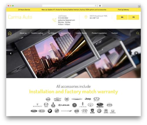 WordPress theme HnK - carmaautodirect.com