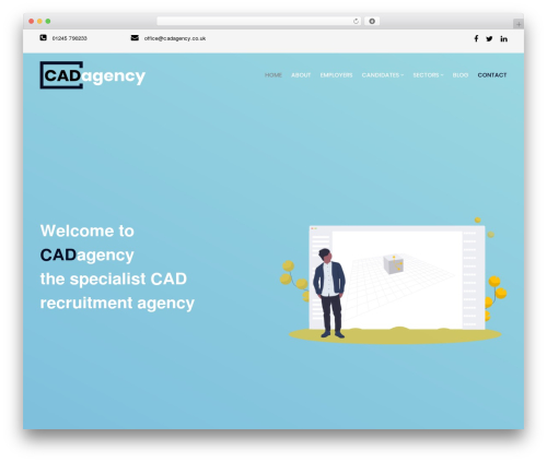 WP Recruitment WP template - cadagency.co.uk