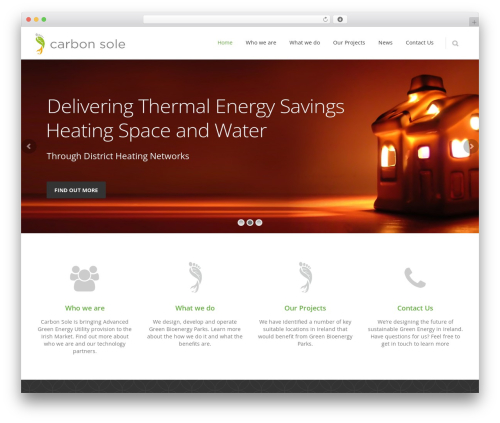 carbonsole theme WordPress - carbonsole.ie