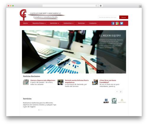 Grand College WordPress template for business - cfa.mx