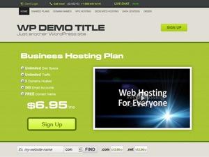 HostPress top WordPress theme