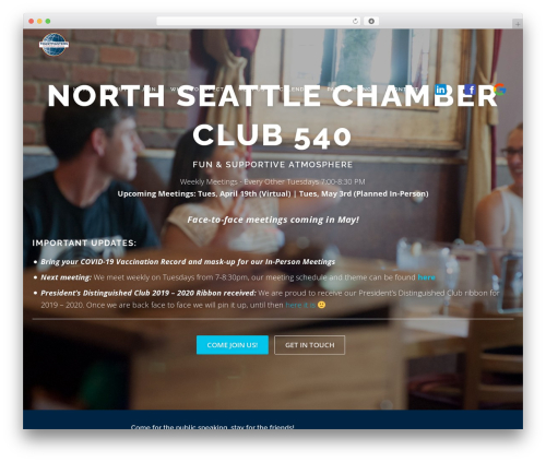 Free WordPress Companion Sitemap Generator plugin - chamberclub540.com