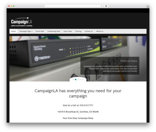 Tempera WordPress theme free download - campaignla.com