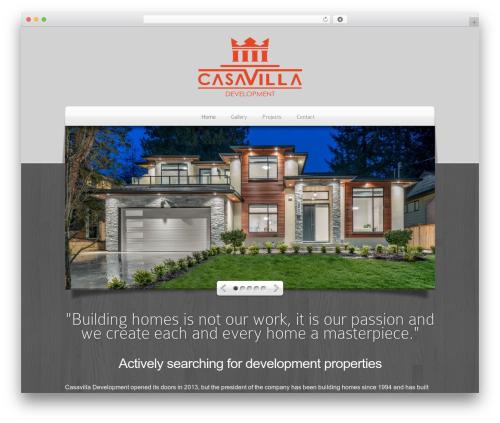 Theme WordPress DeepFocus - casavilla.ca