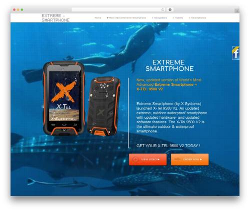 WordPress theme Encore - extreme-smartphone.com