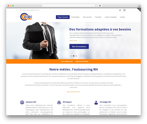WordPress theme INOVADO - cap-rh.com