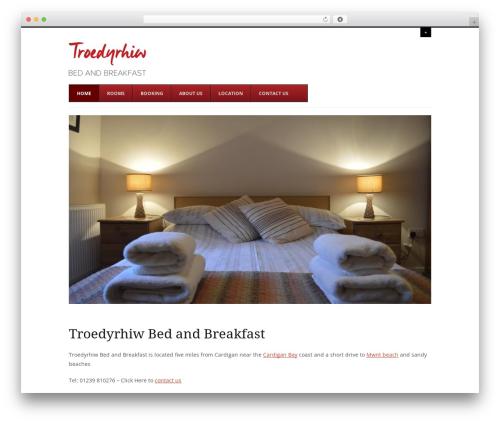 Agility template WordPress - farmhousebnb.wales
