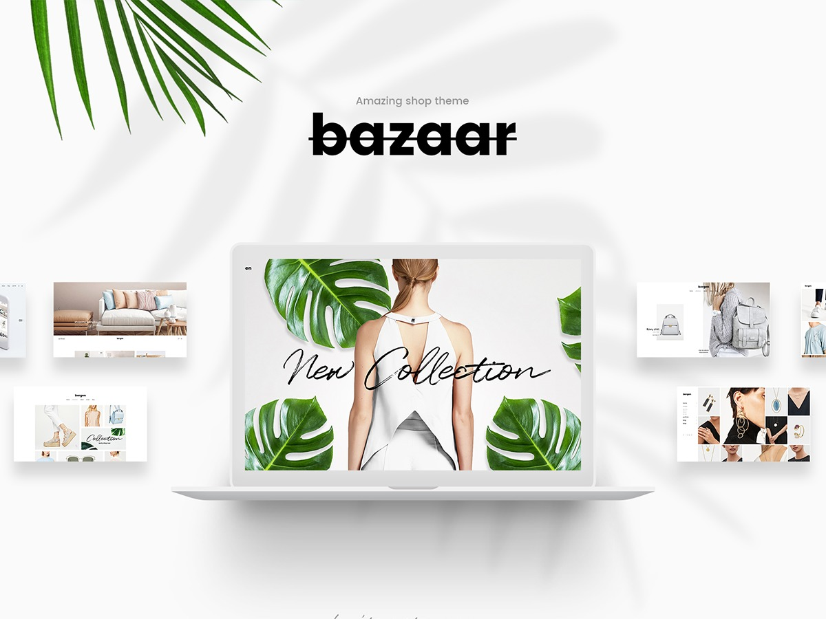 Bazaar WordPress store theme