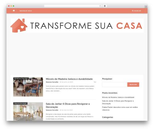 Best WordPress template Codilight - transformesuacasa.com.br