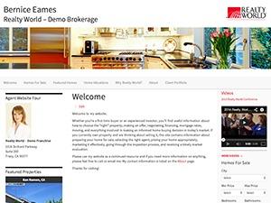 Best WordPress template Eames