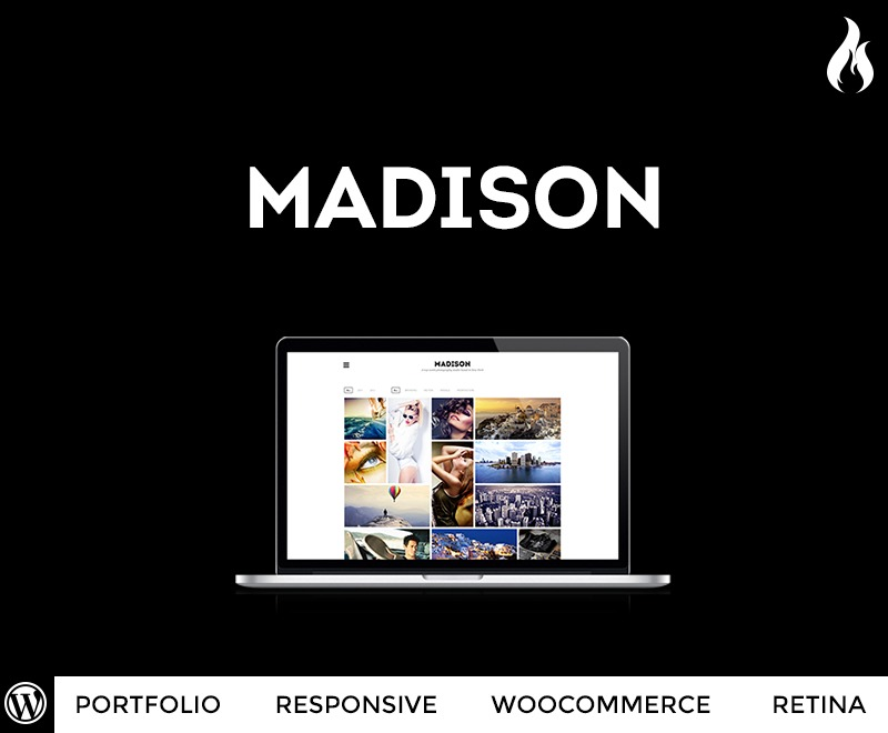 Best WordPress template Madison