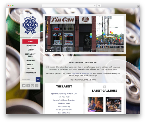 Free WordPress WP-Backgrounds Lite plugin - tincanbar.com