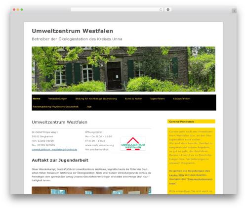 Best WordPress theme Twenty Twelve - uwz-westfalen.de