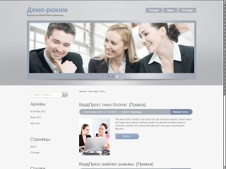 Brainmix premium WordPress theme