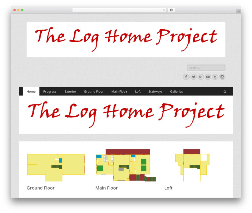 Catch Responsive best WordPress theme - theloghomeproject.com
