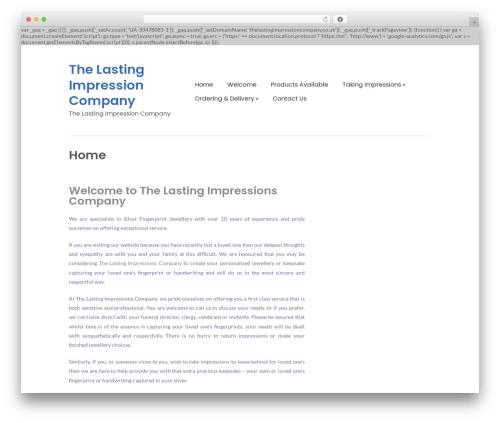 Free WordPress WordPress Ultra Simple Paypal Shopping Cart plugin - thelastingimpressioncompany.co.uk