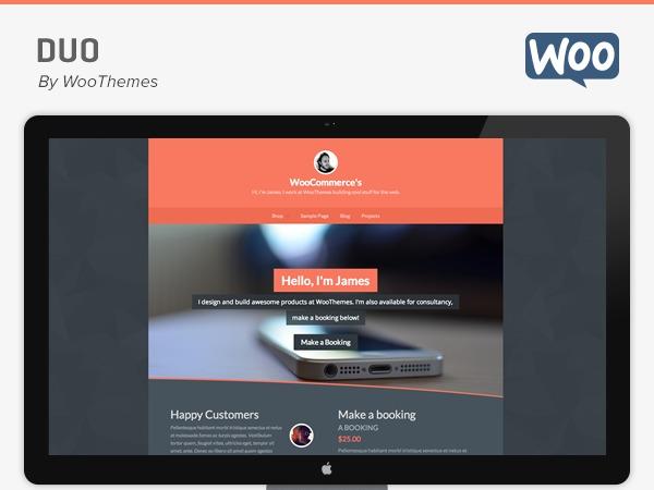 Duo top WordPress theme