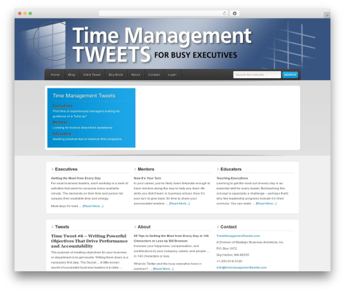 Free WordPress WP-Cycle plugin - timemanagementtweets.com