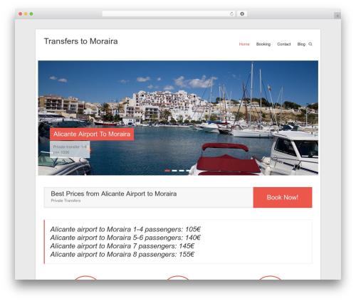 Esteem WordPress template free download - transferstomoraira.com