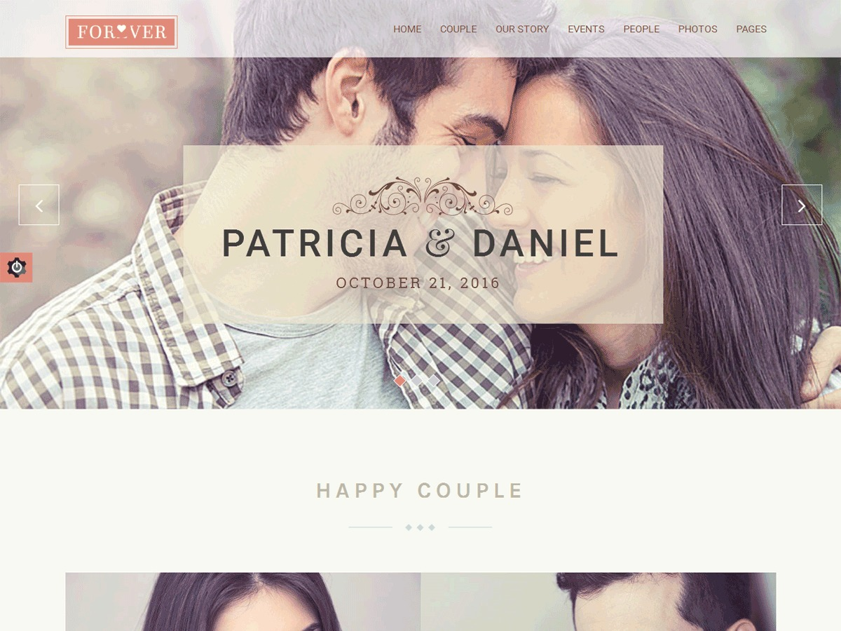 ForeverWedding best wedding WordPress theme by Theemon WordPress Team
