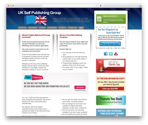 Fusion WP theme - ukselfpublishinggroup.co.uk