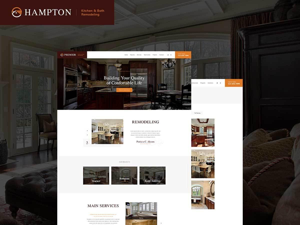 Hampton WordPress blog theme