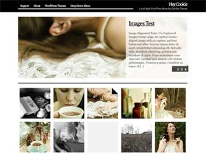 Hey Cookie WordPress theme image