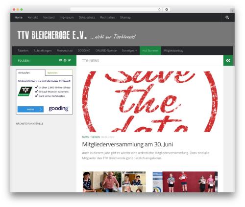 Free WordPress Organize Series plugin - ttv-bleicherode.de