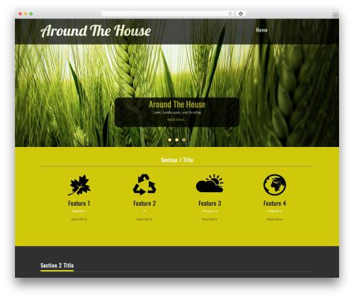 Nature One Pro theme WordPress - upstatelandscape.com